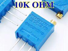 10 pcs Trimmer 10K OHM Trimpots 3296W Multi-turn Potentiometers