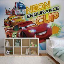 """Disney Wallpaper mural for children's bedroom """"Cars race"""" Red photo wallpaper"""