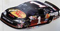 PLAQUE METAL vintage USA NASCAR CHEVROLET MONTE CARLO - 62 X 30 CM