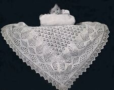 OVER 100 Vintage Baby Shawls, Clothes Blankets Knitting & Crochet Patterns on CD