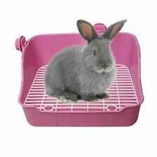 Small Animal Litter Cage Trainer Corner Bedding Box Pet Pan Toilet For Rabbit