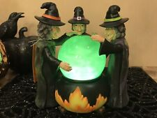 "Halloween Witches Cauldron with LIGHT-UP ""Bubbling Potion/Brew"""