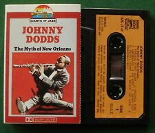 Johnny Dodds The Myth Of New Orleans inc Wild Man Blues + Cassette Tape - TESTED