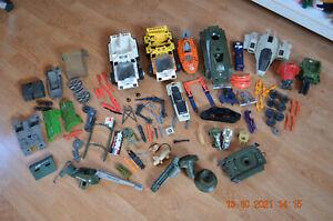 lot pièces détachées véhicules GI JOE lot jouets années 80 HASBRO