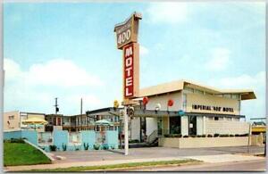Murfreesboro, Tennessee Postcard IMPERIAL '400' MOTEL Roadside c1960s Chrome