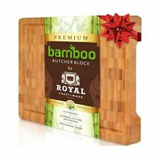 Thick Bamboo Wood Cutting Board Kitchen Butcher Block High Quality Chopping