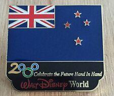 Millennium Village WDW Flag Pin New Zealand Pavilion 2000 Disney Pin