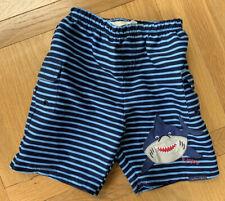 Jojo Maman Bebe Jungen Hai Schwimmen Shorts 3-4 Jahre * makellosen Zustand *