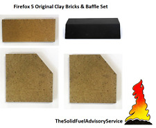 GENUINE Firefox 5 Bricks And Baffle/Throat Plate CLAY bricks NOT Copies SET