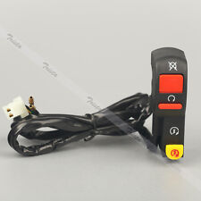 """Motorcycle Bike 7/8"""" Handlebar Engine Stop Electrical Start Right Switch #J2"""