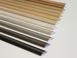 Übergangsprofil 90-270 cm PVC Ausgleichprofil Leiste selbstklebend / Dübelmont.