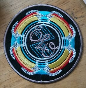 ELO Electric Light Orchestra Patch Embroidered Sew or Iron On Badge