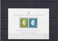 timbres Bloc roi Baudouin belge Belgique neufs **