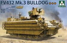 Takom Models 1/35 British FV432 Mk.3 Bulldog Armoured Personnel Carrier (2in1)