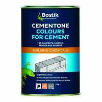Bostik Cement Dye Concrete Powder Render Mortar Pigment 1kg Red Black Buff Brown