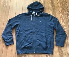 NWT Men's Polo Ralph Lauren Full Zip Hoody Jacket Sweatshirt Pony Logo Size S