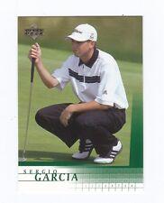 2001 Upper Deck SERGIO GARCIA-- #3--The ROOKIE card!
