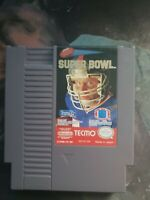 Tecmo Super Bowl (Nintendo NES, 1991) Tested Working Cart Only 100% Authentic