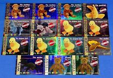 Ty S1 Red Retired Lot of 15 Beanie Cards Bronty/Lefty/Slither/Web Series I-1