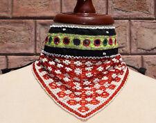 Kuchi Jewelry Tribal Choker Necklace Ethnic Afghan Kochi Craft Boho Chic Beaded