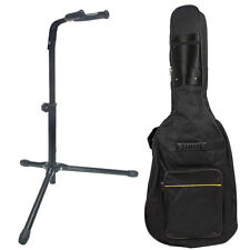 """New Acoustic Electric Bass Guitar Stand with 39"""" Bag"""