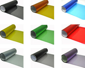 Automobile Car Glossy Headlight Taillight Fog Vinyl Tint Film Sheet Sticker