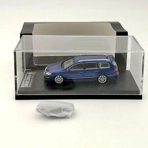Volkswagen Passat R36 Travel Edition Diecast Model Car Toys Gifts VW Blue 1:64