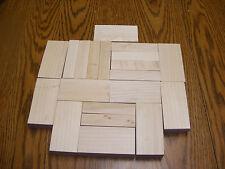 Proportional Sized Wood Blocks for Childhood Development & Math Skills 20 Piece