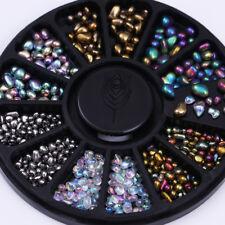 3D Nail Art Decoration Mixed Color Chameleon Rhinestone Irregular Beads