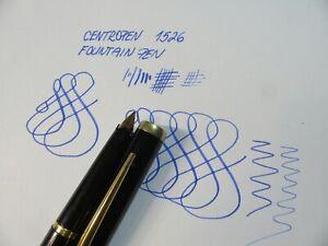 centropen 1526 fountain pen gold nib ripet