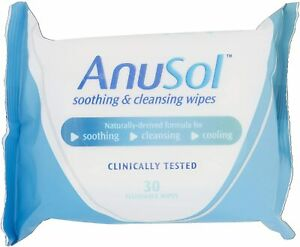 Haemorrhoids Anusol  Soothing & Cleansing Wipes, Pack of 30,