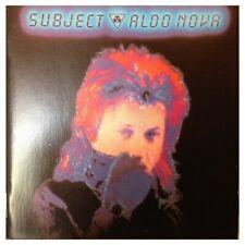 Aldo Nova - Subject (EU Epic 467037 2) CD