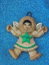 Vintage 1990 Eski Angels Alaska Christmas Ornament