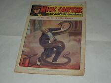 NICK CARTER-IL GRANDE POLIZIOTTO AMERICANO-SERIE NERBINI ANNI '40 ORIGINALE