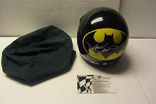 RARE Mark Martin SIGNED Batman Helmet Nascar Open Face Global Authentics COA