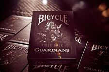 Theory11 GUARDIANS foil logo Deck black Gothic Playing Cards Magic Goth Fantasy