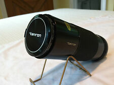 TAMRON ZOOM LENS FOR MINOLTA 1:5.6 F=300MM 058MM WITH LEATHER BAG AND CAPS