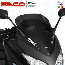28020 Cupolino parabrezza basso Racing Faco fume scuro Yamaha Tmax 500 2008-2011