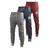 Mens Jogger Pants Crosshatch Truman Tracksuit Jogging Trousers