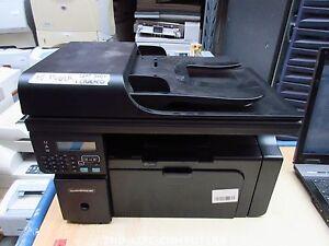 HP Laserjet M1212nf MFP Printer Scanner Fax Copier Copy Machine NO POWER+DAMAGED