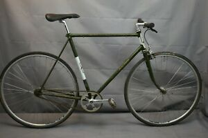 1973 Raleigh Super Record Vintage Single Speed Bike 60cm Large SS Steel Charity!