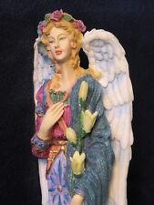"1997 Lenox ANGEL OF PEACE w/ BOX COA Hand Painted, ""Angels Of Life Series"""