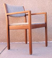 Vintage Mid-Century Modern Wood Gunlocke Chair