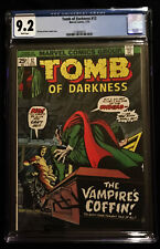 1972 Marvel Tomb of Darkness #12 CGC 9.2 White Pages.
