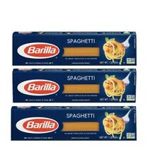 New listing 3x Barilla Spaghetti Italy'S #1 Brand @ 3x 454g/1lb =3Lb Best By 2022-oct-28