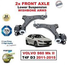 2X Eje Delantero Brazos Suspensión Inferior para Volvo S60 II T4F D3 2011-2015