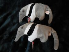 Lot of two (2) Ty Ants anteater Beanie Babies Beanie Baby Mwmt