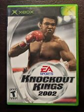 Knockout Kings 2002 (Microsoft Xbox, 2002) w Case & Manual Very Nice!