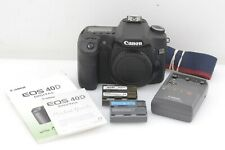 EXC++ CANON EOS 40D 10.1MP DSLR BODY, 2 BATTS+CHARGER ONLY 13K ACTS! TESTED