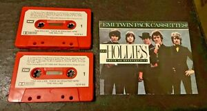 The Hollies - Their 40 Greatest Hits - POP ROCK TWIN PACK CASSETTES 1986 TCTP-9